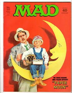 MAD MAGAZINE #164 - JAN. 1974 - 40¢ CHEAP CLASSIC FROM THE USUAL GANG OF IDIOTS