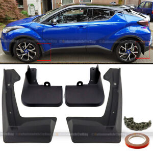 For 17 18 19 20 Toyota CHR C-HR OE Style Mud Flaps Guards Splash Flap Set of 4