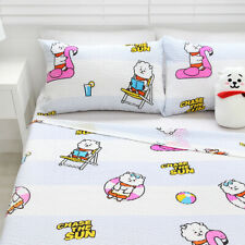 Original BT21 RJ Summer Bedding Ripple Blanket 157cm*185cm