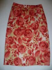 Nougat London Designer Skirt Size 2 (10) Watermelon Pink/Red EC Near New