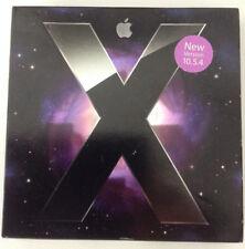 Apple Mac Leopard OS X 10.5 (10.5.4) w/ OS 10.5.8 ComboUpdate DVD