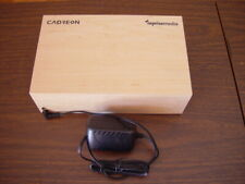 Cadreon reprisemedia Wooden Alarm Clock Aux Amp Tested Great Working Condition