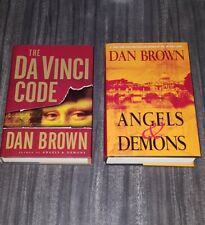 New listing The Da Vinci Code and Angels & Demons Hardcover Books by Dan Brown