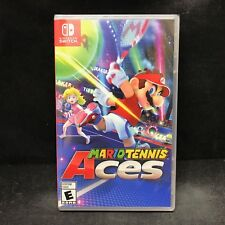 Mario Tennis Aces (Nintendo Switch, 2018) BRAND NEW