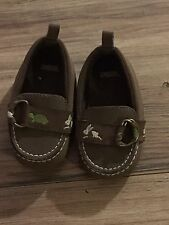 Gymboree Rabbit And Turtle Boys Crib Shoes Size 3 Baby Infant