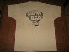 New listing Vintage 70s 80s Super Dad Grilling Screen Stars 50/50 mens T-Shirt size Xl