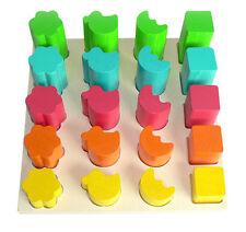 Motorikspielzeug Holzspielzeug Steckturm; Holzspielzeug ,Meggie``; Spielzeug aus Holz; Steckspiele; Steckturm
