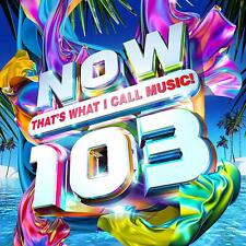 NOW THATS WHAT I CALL MUSIC 103 (Various Artists) 2 CD SET (2019)