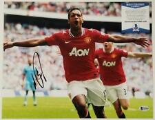 Nani signed 11x14 Photo Autograph Manchester United (A) ~ Beckett BAS COA