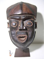 a fine BAMILEKE mask CAMEROON *** AFRICANTIC FRANCE AFRICAN TRIBAL PRIMITIVE ART