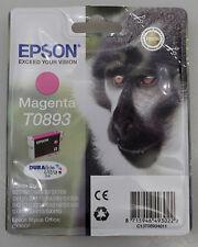 PRL) EPSON T0893 MAGENTA CARTUCCIA INCHIOSTRO INK CARTRIDGE ORIGINAL CARTUCCE