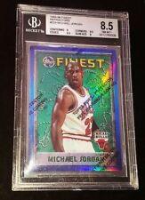 1995-96 Michael Jordan Topps Finest Refractor #229 BGS 8.5