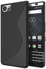 For BlackBerry KEYone Mercury Case Soft S Line Gel TPU Silicone Cover Skin