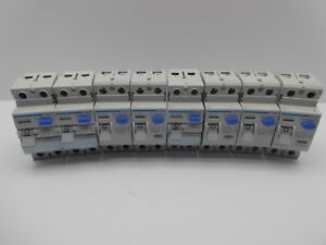 HAGER RCD RESIDUAL CURRENT BREAKER TRIP FOUR POLE THREE PHASE 30, 100, 300MA
