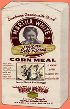MARTHA WHITE FLATT AND SCRUGGS CORN MEAL BAG POSTER
