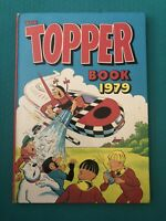The TOPPER Annual 1979 - Vintage Comic Hardback Book