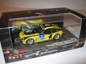 1:43 BMW Z4 Knechtges metzger 24 Hrs. Nürb 2011 Minichamps 437111225 Ob New Le