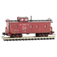 N Scale Micro-Trains MTL 05144020 SAL Seaboard Air Line Caboose #5345 Weathered
