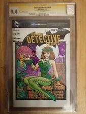 Detective Comics #20 CGC SS 9.4 Signed & Sketched by Steven Butler