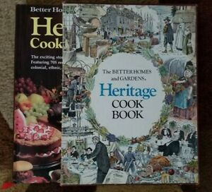 BHG HERITAGE COOK BOOK 705 RECIPES Better Homes & Gardens THE HEIRLOOM LIBRARY