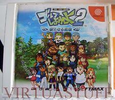 Golf Shiyouyo 2, Aratanaru Chousen, Dreamcast, Sega, Japan, Excellent condition!
