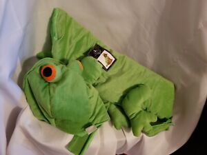 Spooky Night Halloween Frog Green Dog Costume, Size large NWT
