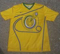 Vintage Nike Brasil X Equador OUTUBRO 2007 Soccer Jersey Size Adult LARGE CBF