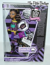 MONSTER HIGH SCHOOL'S OUT CLAWDEEN WOLF DOLL NEW IN BOX W/ BOOTS OUTFIT & DIARY