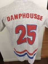 Adult Hockey T-SHIRT MEDIUM MONTREAL CANADIENS #25 DAMPHOUSSE