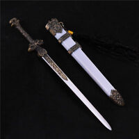 1/6 Chinese Ancient Metal Sword Model  Weapon Sword Figure Accessories
