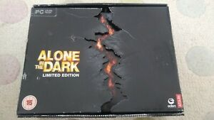 ALONE IN THE DARK LIMITED EDITION PC DVD - FIGURE ART BOOK SOUNDTRACK GAME BOXED