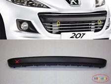 PEUGEOT 207 2009- FRONT BUMPER GRILLE MOULDING CENTER NEW ONLY FACELIFT MODELS