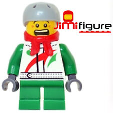 NEW LEGO Minifigure Boy Octan Jacket 10249 Winter Toy Shop Genuine Sports Helmet