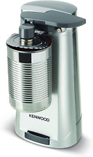 Kenwood Can Opener Knife Sharpener Bottle Opener 40 W Silver Rubber Handle Grip