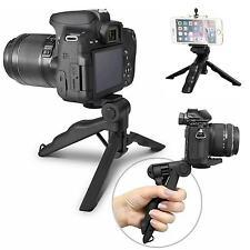 Universal Mini Desktop Tripod Stand Hand Pistol Grip Holder f Camera Phone Gopro