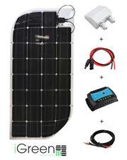 Kit panneau solaire 100W 12V pour camping-car flexible iGreen fabriqué en Europe