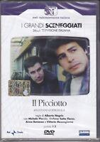 2 Dvd Sceneggiati Rai **IL PICCIOTTO** con Michele Placido completa nuovo 1973