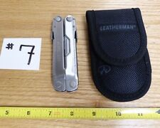 LEATHERMAN FOLDING MULTI TOOL UTILITY KNIFE: REBAR & NYLON SHEATH CASE B12-#7