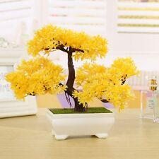 Künstliche Pflanzer Kunststoff Baum Zuhause Dekor Bonsai Pflanze HausgartensBüro