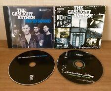 2 X The GASLIGHT ANTHEM CD's - The '59 Sound & American Slang