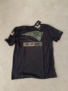 2020 Nike New England Patriots Salute To Service Military Dri-Fit Shirt Mens L