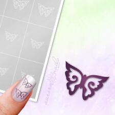 Schablonen für Airbrush und Nailart S040 Schmetterling Butterfly Flügel 80x