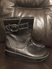 Fitflop Ladies Boots Uk 6 Wobbleboard Vgc Black