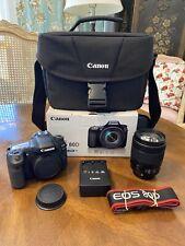 Canon EOS 80D 24.2 MP Digital SLR Camera w EF-S 18-135mm IS USM Lens Travel Bag