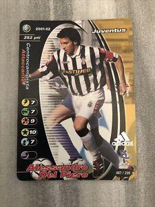 Alessandro Del Piero FOOTBALL CHAMPIONS PROMO ADIDAS 2001 ULTRARARE NEAR MINT