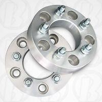"5 Lug 5"" To 5 x 5"" Wheel Adapters / Spacers 1.25"" W/ Studs & Lug Nuts"