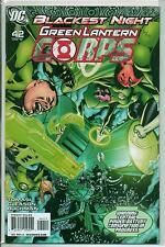 DC Comics Green Lantern Corps #42 January 2010 Blackest Night VF+