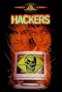 Hackers (DVD, 2004) Free Post