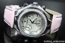 Women Technomarine TechnoDiamond 1.1 ct 136 Diamonds Pink Swiss DTMWW Watch New