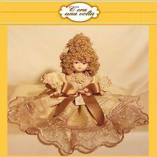 BAMBOLA DOLL porcelain capodimonte MADE IN ITALY organza bambole porcellana